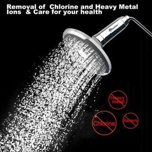 Image 3 - ويلتون حمام دش تصفية المياه (H 301 2E) المنقي الكلور والمعادن الثقيلة إزالة تنقية الاستحمام الصحي للاستحمام الصحي