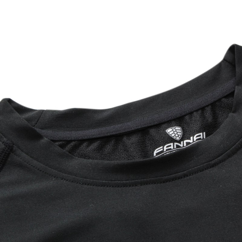 2017 Mens Cool Dry Compression Baselayer Short Sleeve T Shirts FN23 Quick-drying Breathable Tight T-shirt Running Costume