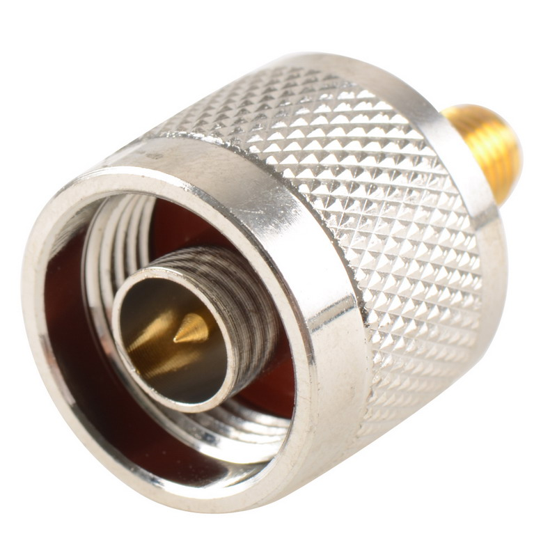 1pc Adapter N Plug Male Nickel Plating To SMA Female Gold Plating Jack RF Connector Straight VC720 P40 1pc adapter n plug male nickel plating to sma female gold plating jack rf connector straight vc720 p0 5