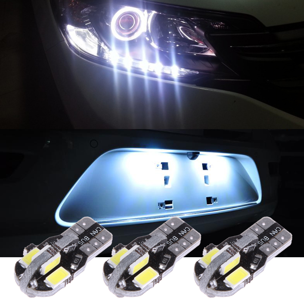 6Pcs/Lot T10 5730 8SMD Car Clearance Lights License Plate ...