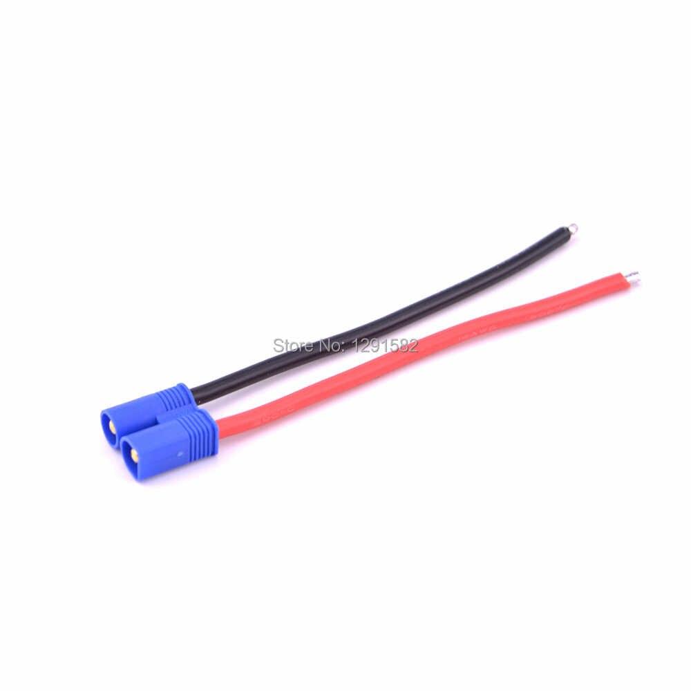EC3 EC5 a T decanos enchufe XT60 conector adaptador decans enchufe 12AWG 14AWG cable para RC Lipo ESC Motor Drone