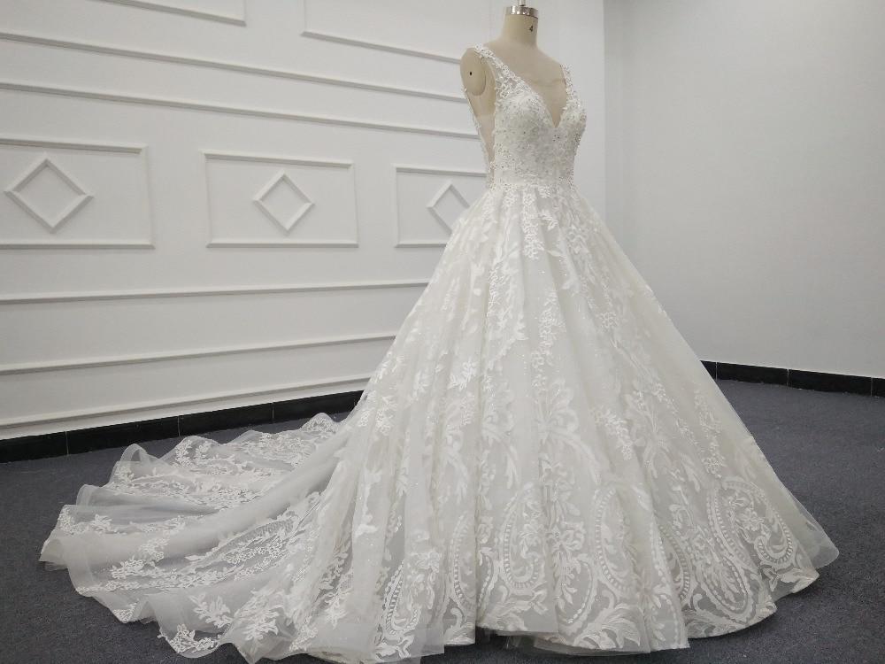 Eslieb High End Custom Made Lace Wedding Dresses 2019