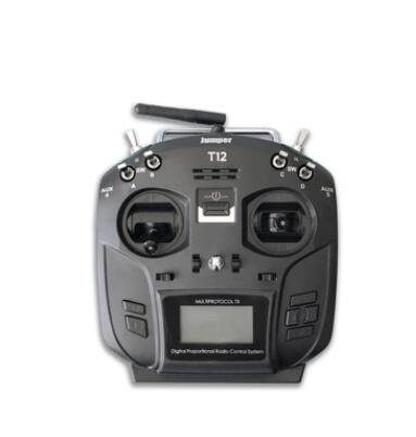 цена на Jumper T12 Plus High Sensitivity Hall Sensor Gimbal OpenTX 12ch transmitter Radio with JP4-in-1 Multi-protocol RF Module