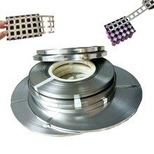 Лента из чистого никеля 1 кг, 99.96%, лента из никеля высокой чистоты 0,15*6 мм 0,15*8 мм 2P 4P для точечной сварки 18650, никелевая лента