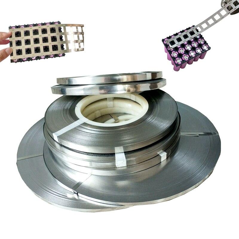 1 kg pur Nickel bande 99.96% haute pureté Lithium batterie Nickel bande 0.15*6mm 0.15*8mm 2 P 4 P pour 18650 soudage par points Nickel ceinture