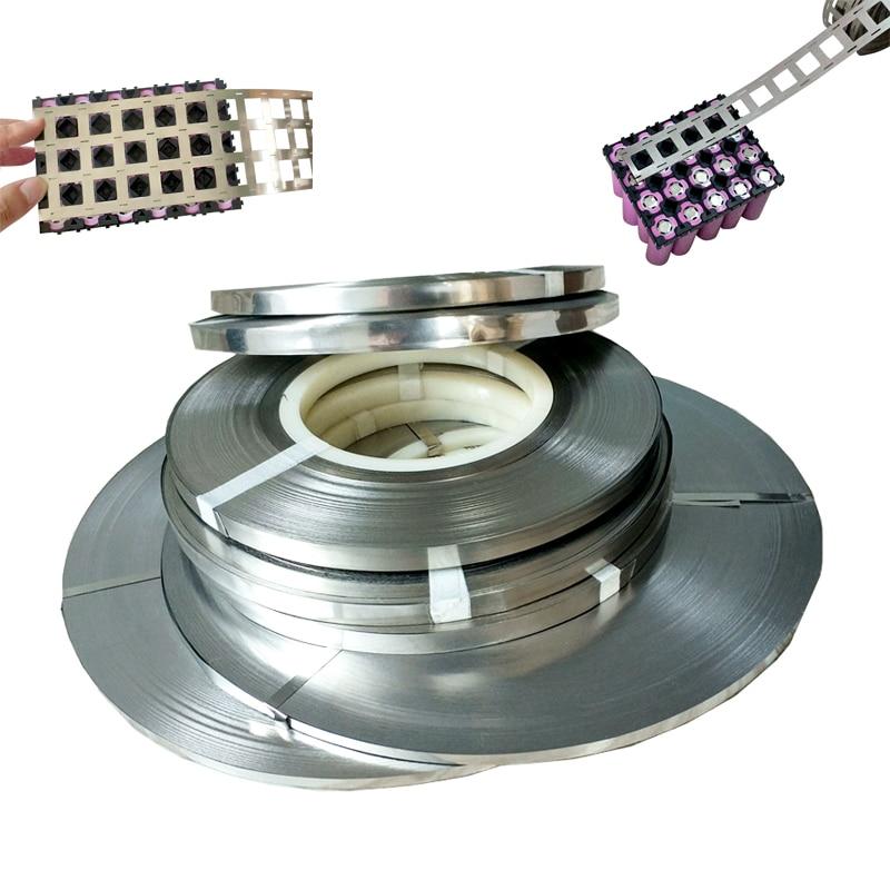 1kg Pure Nickel Faixa de 99.96% Bateria De Lítio de Alta Pureza de Níquel Tira 0.15*6mm 0.15*8mm 2P 4P Para 18650 Solda Ponto Cinto de Níquel