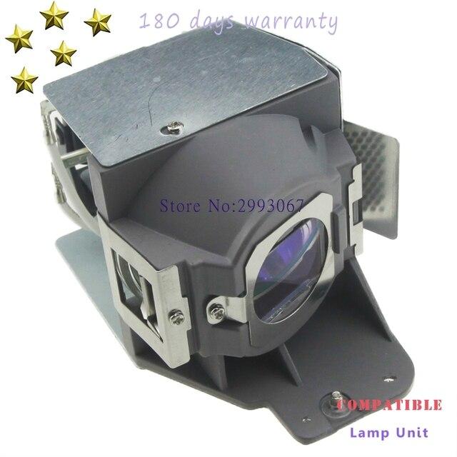 5J. قطعة غيار من مصابيح العرض العارية مع السكن لسيارات BenQ MH630 MH680 TH680 TH681 TH681 + TH681H مع ضمان 180 يوم