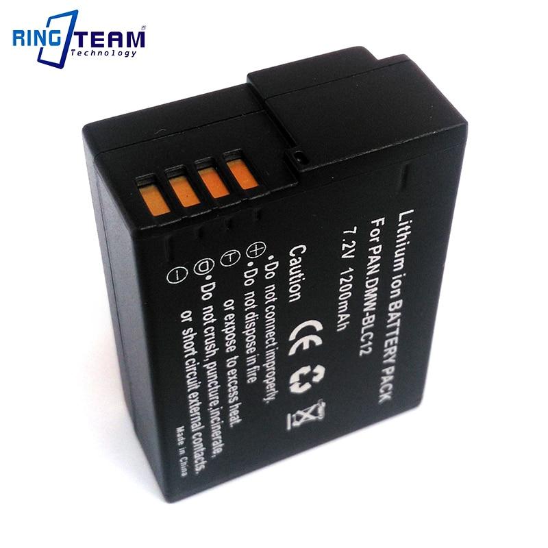 DMW-BLC12 BLC12E Batterie Pack für Panasonic Digital Lumix Kamera DMC-GH2 GH2H FZ200 G6 G5 G5K GH2K G80 G81 G85