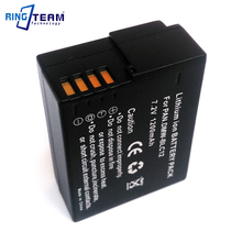 DMW-BLC12 BLC12E Battery Pack for Panasonic Digital Lumix Camera DMC-GH2 GH2H FZ200 G6 G5 G5K GH2K G80 G81 G85