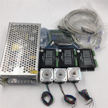 1.6oz.in Nema17 Stepper Motor 3Axis Kit 2phase Motor+Driver+Power Supply+5Axis Breakout Board for 3D Printer