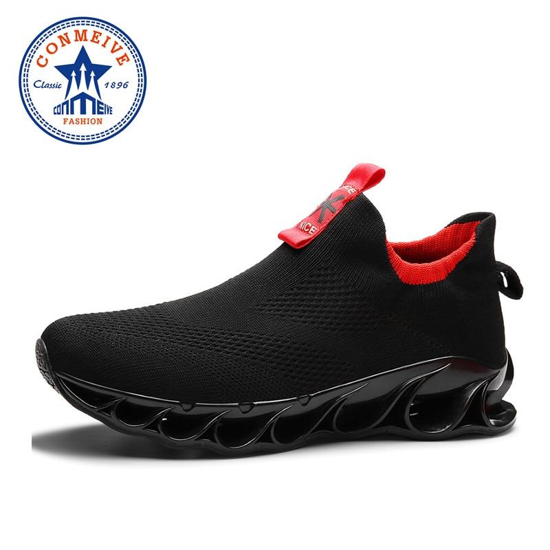 New Original Outdoor Man Running Shoes Cushioning Non slip Men Sport Jogging Shoes High Quality Light