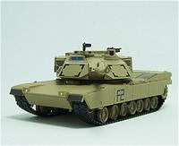 1:72 M1A2 Tank Model US M1 Tanks Military Static Decoration Model Toy