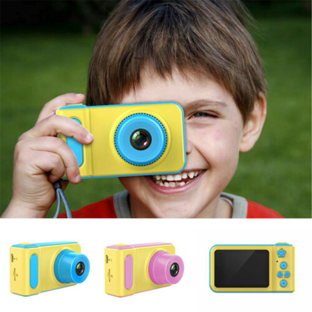 Children LCD HD Digital Camera Monitor Camcorder Video Recorder Game Photo Gift For Kids(China)