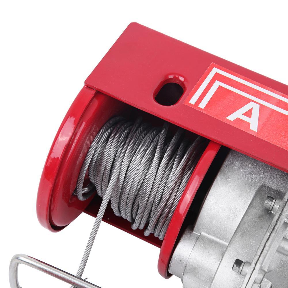 600kg Electric winch Motor winch Wire hoist Cable winch Motor winch Crane 1200W
