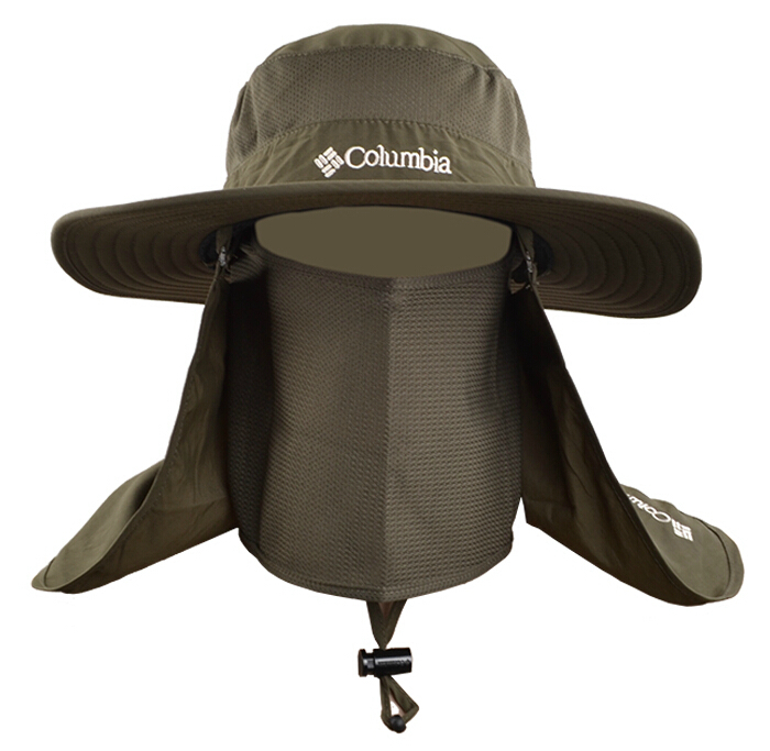 Outdoor Summer Men Fishing Sun Hat Climbing UV Protection Bucket Hat With  Neck Face Curtain Cycling Breathable Visors Freeship-in Bucket Hats from  Apparel ... 6a89a4fb27d
