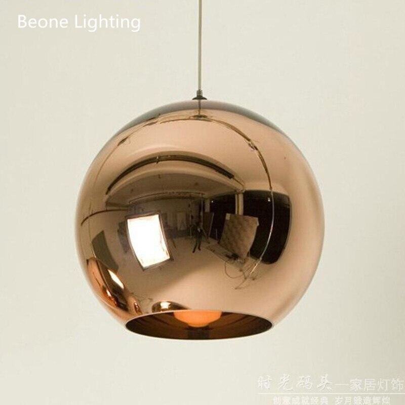 Replica Dixon Copper Shade Modern Decorative Glass Pendant Light Pendant Lamp Pendant Lighting