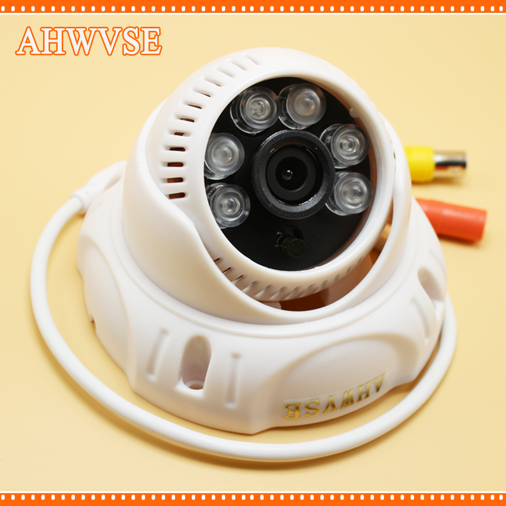 AHWVSE HD 1280*720P AHD Camera 1MP with 6pcs Blue IR LEDs 3.6mm Lens Free Shipping free shipping hot selling 720p 20m ir range plastic ir dome hd ahd camera wholesale and retail