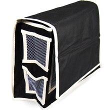 цена на 32*15*26cm Oxford Bedside Hanging Bag Convenient Bunk Black Hanging Storage Bag Multifunctional  Bedside Sundry Receipt Bag