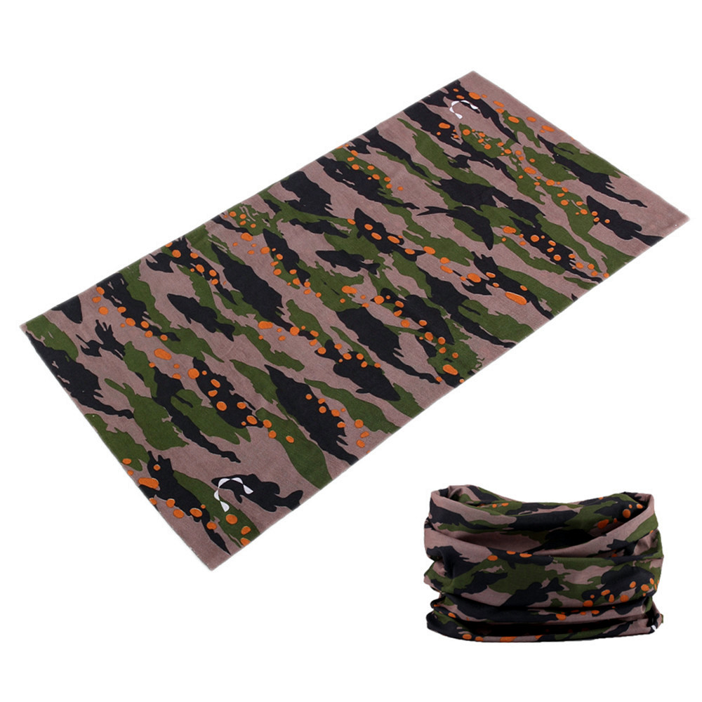 Shemagh Military Hunting Seamless Bandana Foulard Moto Hiking Camo Scarf Mask Neck Gaiter Multicam Face Shield Kaffiyeh Buffe 3D