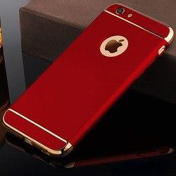 Coques de téléphone noires d'origine de luxe coque arrière étui pour iphone 7 Plus pour marque iphone 7 7plus logo Ultra mince en plastique dur