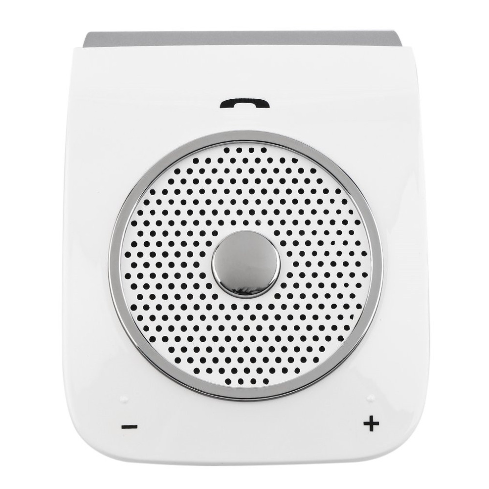 Top Quality Wireless Bluetooth Handsfree Car Kit Speakerphone Bluetooth Hands free Stereo Bass For Smart Phone