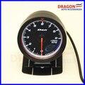 "2.5 ""60 MM DF Avance CR Gauge Meter Tacómetro RPM Medidores de Rostro Negro"
