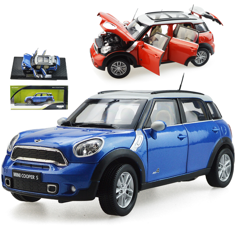 Alloy acousto-optic MINI pull back kid toy car 6 the door can open model collection Childrens day birthday gift 1:24