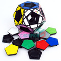 MF8 Void Master Pentultimate Magic Cube Puzzle Black (Stickered) Learning&Educational Cubo magico Toys