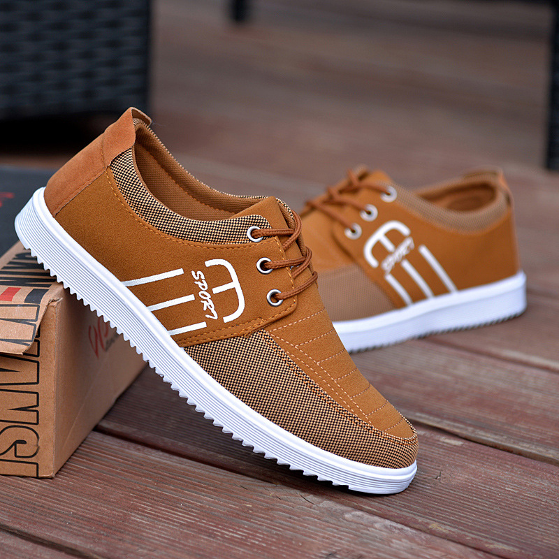 Brand Casual Shoes Men Breathable Canvas Shoes