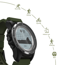Mens GPS Running Watch Bluetooth Cross Country Multi-sport fitness tracker Smart Watch