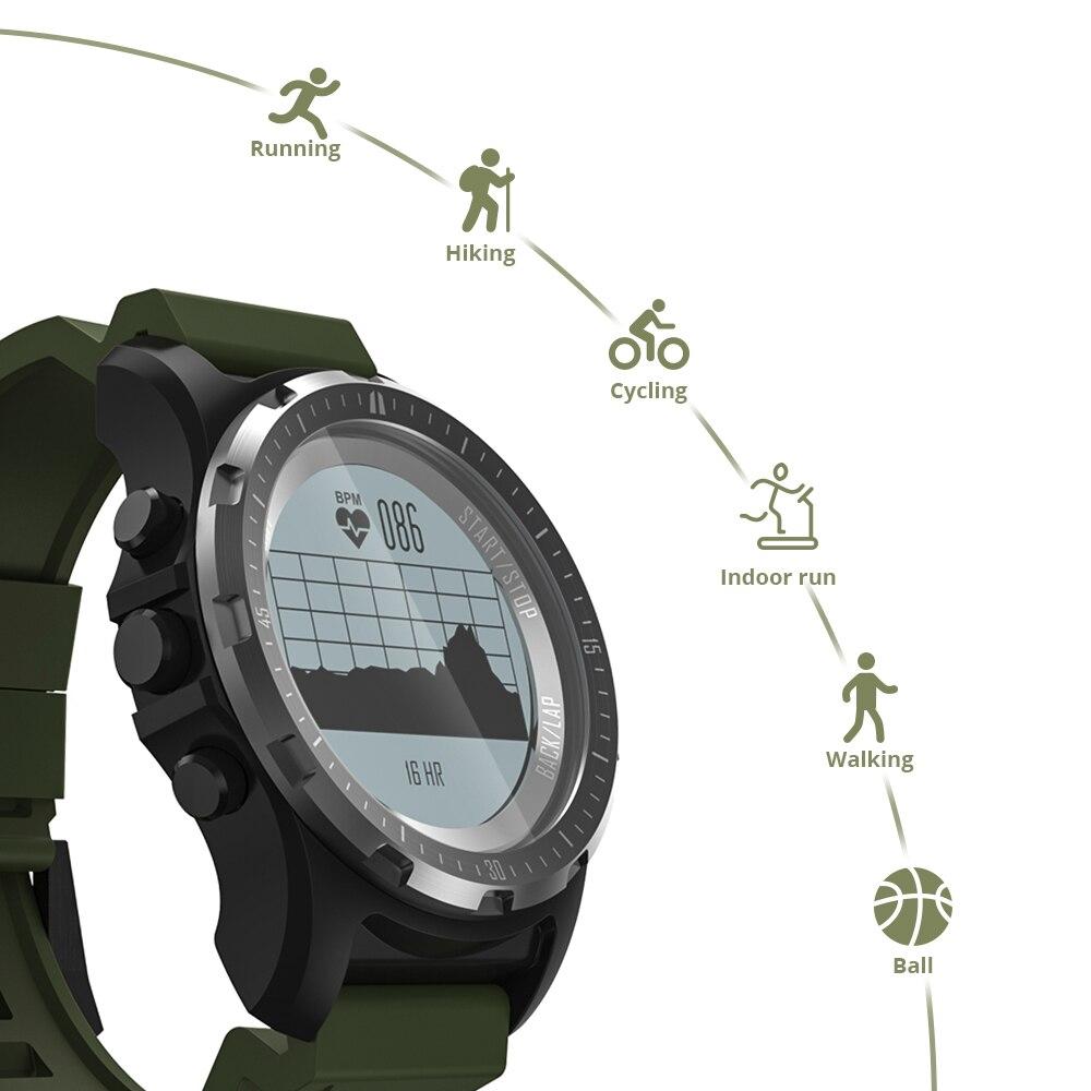 Makibes BR2 GPS boussole compteur de vitesse Sport montre Bluetooth randonnée multi-sport fitness tracker montre intelligente appareils portables - 3