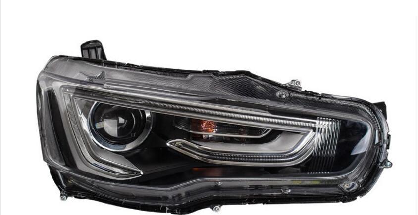 Mitsubish Lancer headlight2008~2015,Fit for LHD,Free ship! ASX,Lancer fog light,Lancer EX,LX,Outlander,galant,grandis