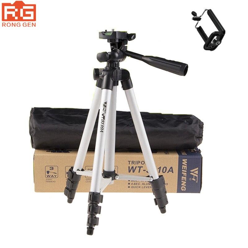 Tripod With 3 Way HeadTripod for Nikon D7100 D90 D3100 DSLR Sony NEX 5N A7S Canon