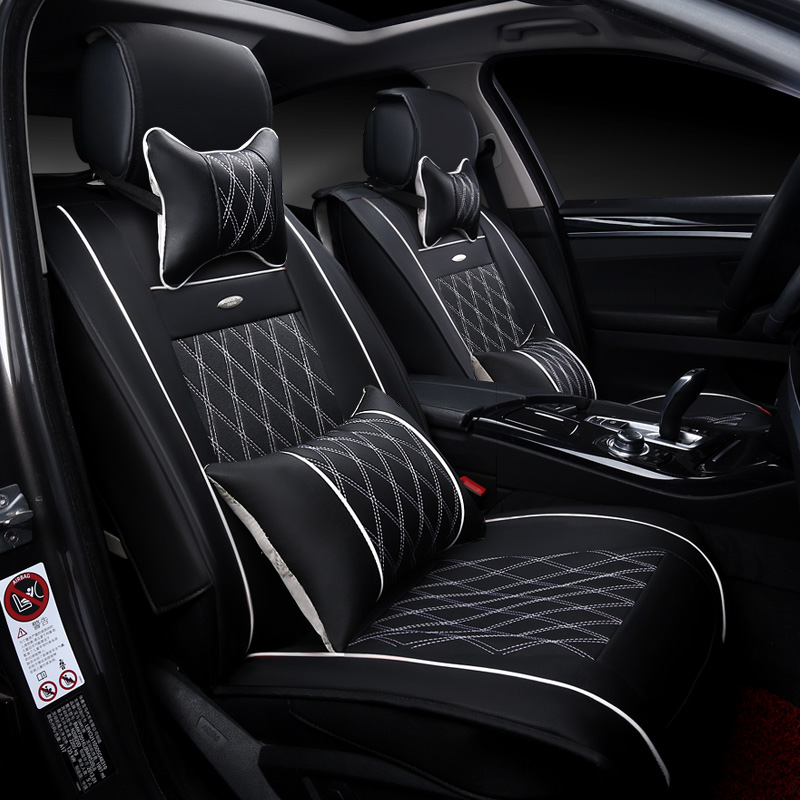 ФОТО New 3D Car Seat Cover Sports Styling,Senior Leather,Car-covers,Car Styling Cushion For BMW Audi Q7 Q5 Honda Ford  CRV All Sedan
