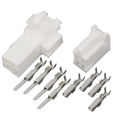 цена на 10 Sets  4 pins DJ7046Y-2.2-11/21  Auto Electrical Connector   male and female plug connector terminal
