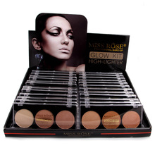 MISS ROSE 3 color powder repair concealer cake display box 24 pcs