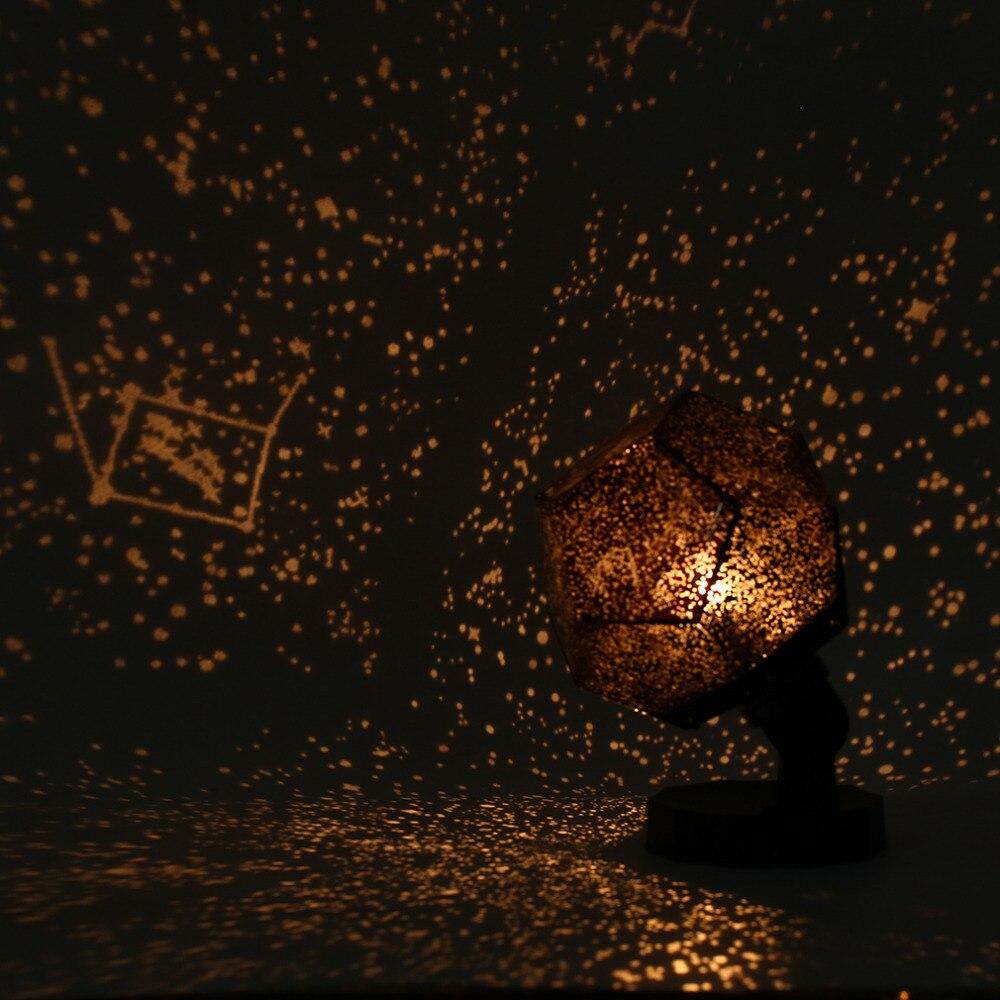 ICOCO Venta Caliente Celestial Star Astro Cosmos Cielo Luz de La Noche Estrellada Lámpara Del Proyector Romántico Dormitorio Decoración envío de La Gota