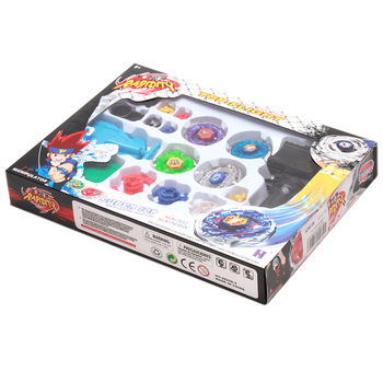 Beyblade Metal Spinning Beyblade Sets Fusion 4D 4 Gyro Box Fight Master Beyblade String Launcher Grip For Sale Kids Toys Gifts toys for 2 month old