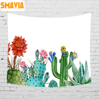 SMAVIA Africa Tropical Plants Printing Tapestry Polyester Fabric Wall Hanging Tapestry Decor Home Bed Sheet Beach