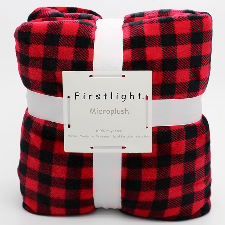 Flannel Fleece Throw Soft Warm blanket Manta Cobertor Casal a quilt bedspread Blanket to on for the sofa/Bed/Car/couch Plaid 18