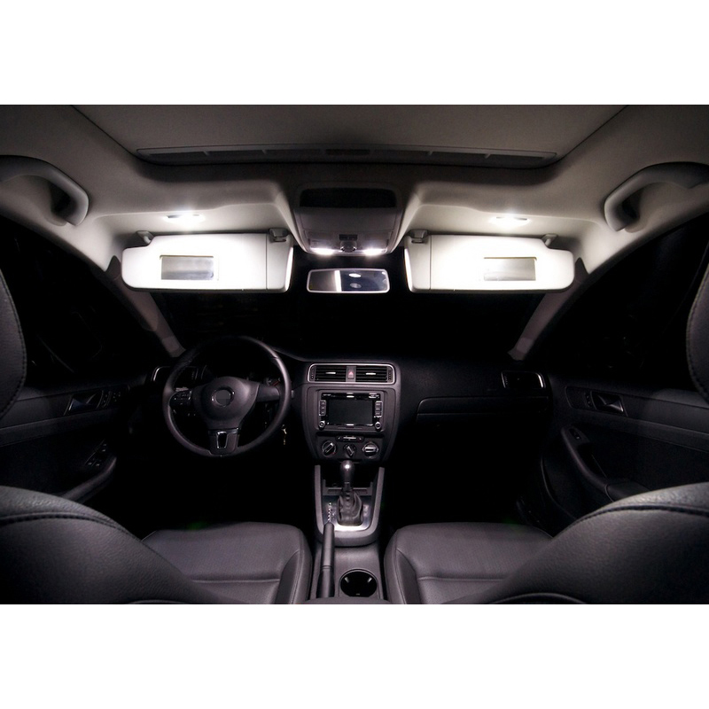 Paket XIEYOU 10pcs LED Canbus Lampu Interior Kit Untuk J MK 6 - Lampu mobil - Foto 3