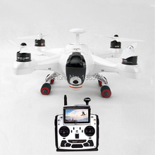 Walkera QR X350 Premium stasiun tanah FPV Quadcopter drone, 1080 P F12E RTF