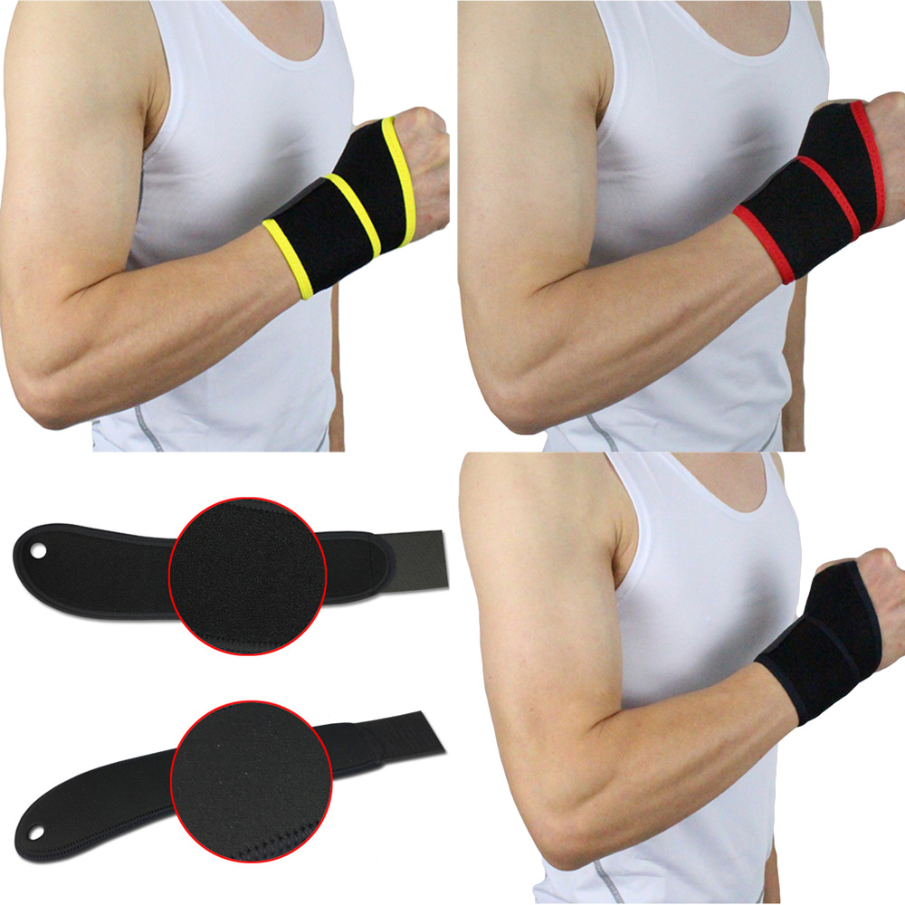 Sports Wrist Band Support Gym Fitness Weight Lifting Wristband Adjustable 1PC LFSPR0064