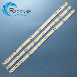LED Backlight Strip 8 หลอดไฟสำหรับ Skyworth 32E350E 32E320W 32E306C 32 นิ้ว WS V2.0 PITCH 80 มม.32E310C LED32C45RQD dl3271 (B) W