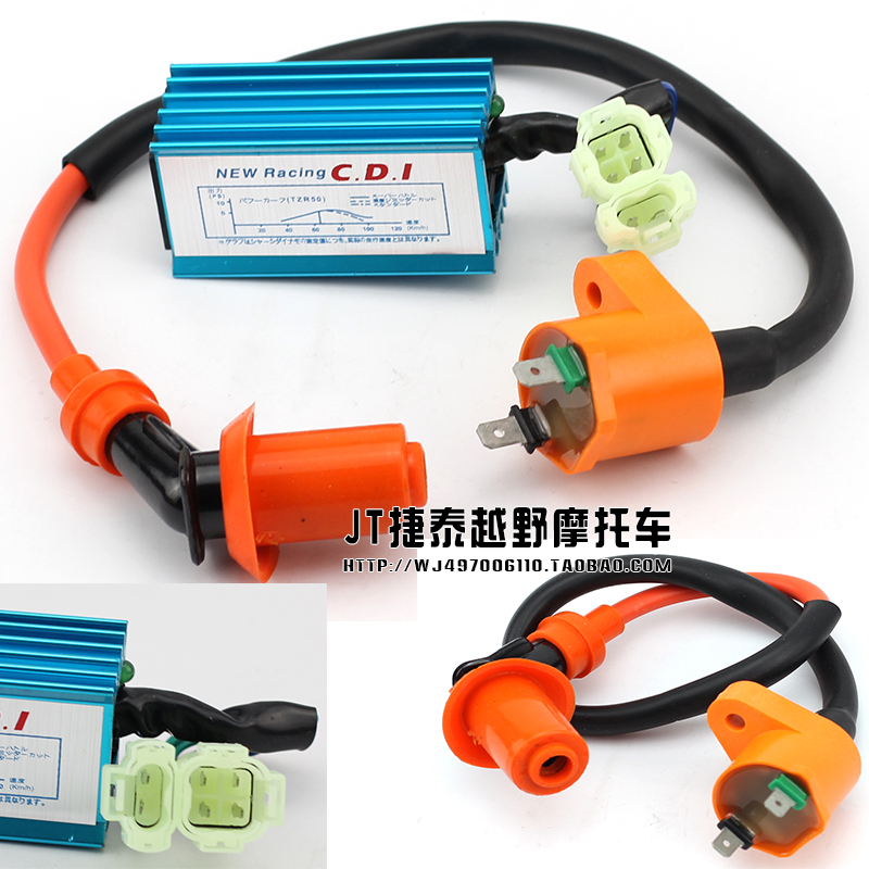 Gy6 refires 50 125 150cc electronic igniter cdi ignition coil rsz jog piaggio scooter parts accessories free shipping