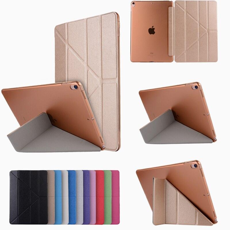 Tablets & E-books Case Nice Pu Leather Case For Ipad Mini 4 Silk Slim Transparent Smart Back Cover For Apple Ipad Mini 4 Flip Stand Case Auto Sleep/wake