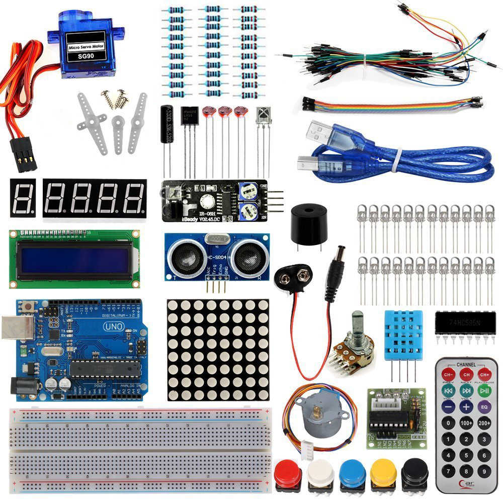 Detail Feedback Questions about Starter Kit For Arduino Basic