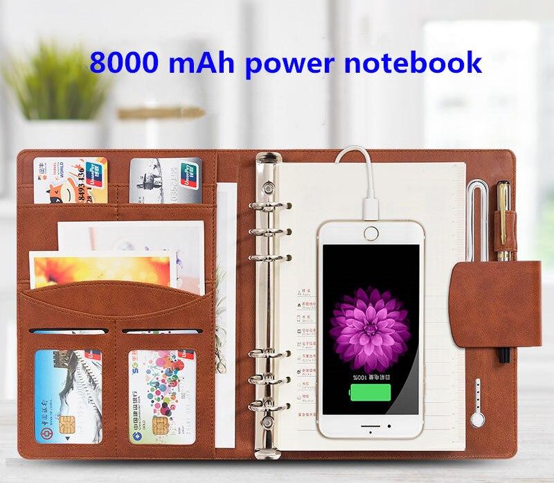 Batterie externe supportant la charge sans fil outils multifonctions pour ordinateur portable charge Bao Power Notebook cadeau créatif personnalisé