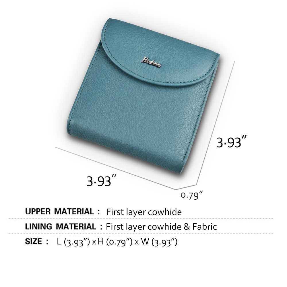Mini carteras de cuero genuino para mujer, carteras delgadas para mujer, nuevo diseño, carteras de lujo para mujer
