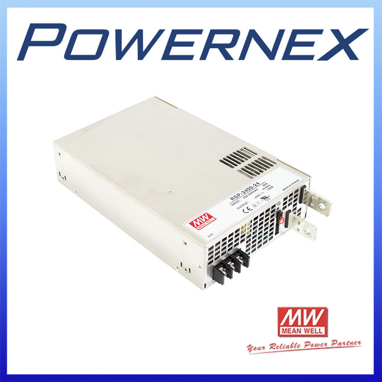 [PowerNex] MEAN WELL RSP-2400-24 meanwell 2400W Single Output Power Supply Meanwell RSP RSP-2400 advantages mean well rsp 2400 12 12v 166 7a meanwell rsp 2400 12v 2000 4w single output power supply [real1]